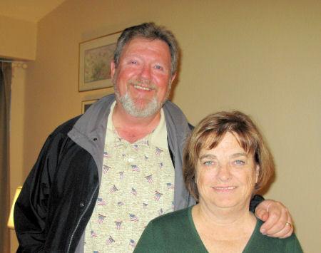 Paul & Donna, November 2008
