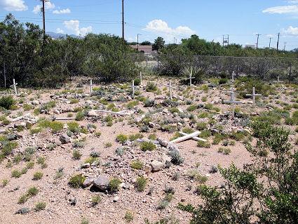Railroad Childrens' Graveyard, Vail, Arizona