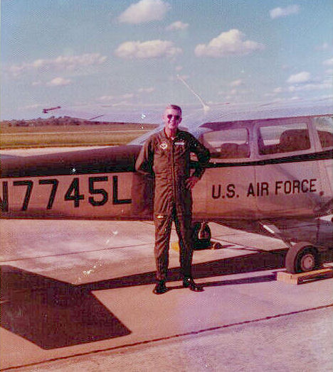 Paul, basic flight training, 1973