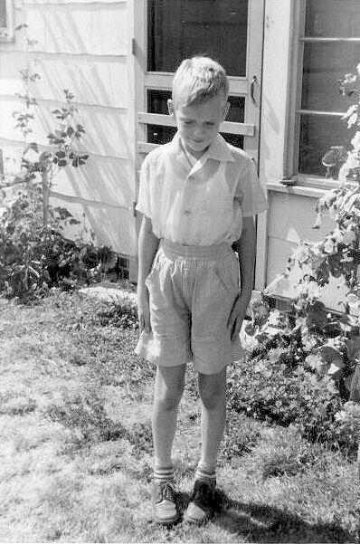 Paul at 8, 1954