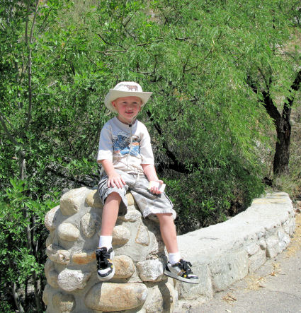 Quentin at Sabino Canyon