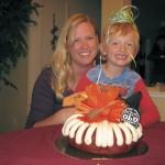 My birthday cake: Beth & Quentin