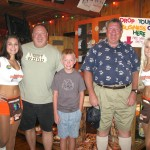 Gregory, Quentin, & Paul at Hooters