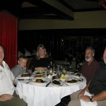Dinner with Gregory, Beth, and Quentin in Las Vegas