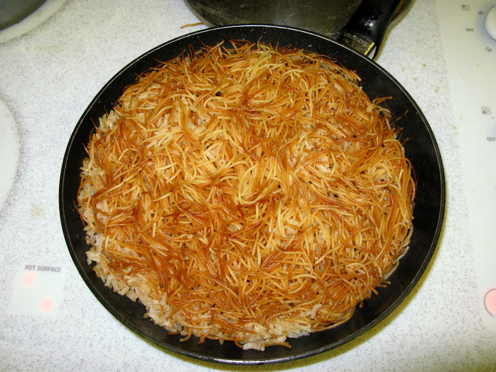 Rice & vermicelli pilaf