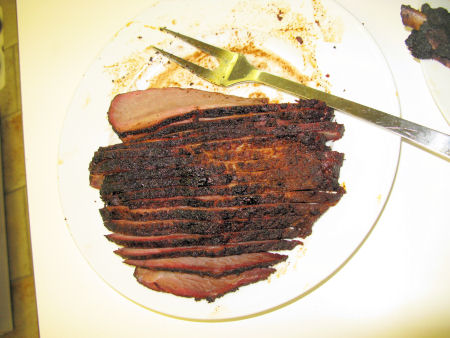Brisket, ready to serve